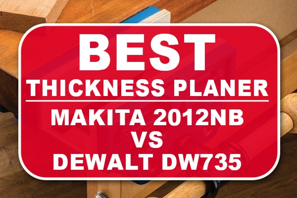 Makita 2012NB vs DeWalt DW735