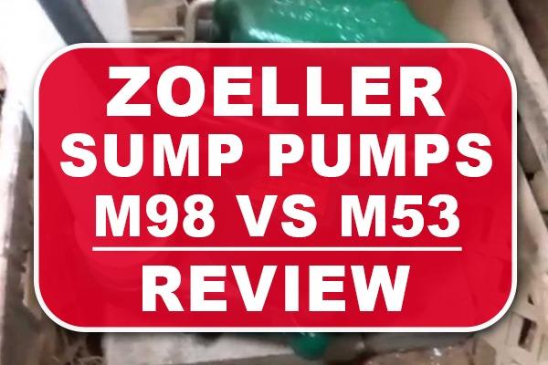 Zoeller M98 vs Zoeller M53